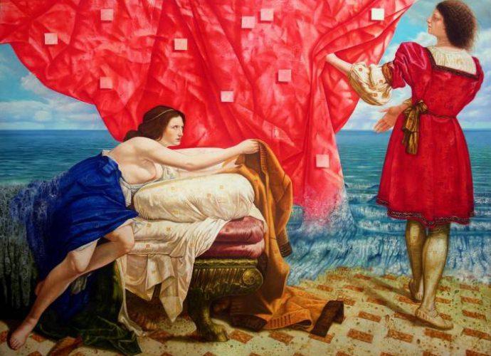 Кубинский художник. Enrique Toledo 235