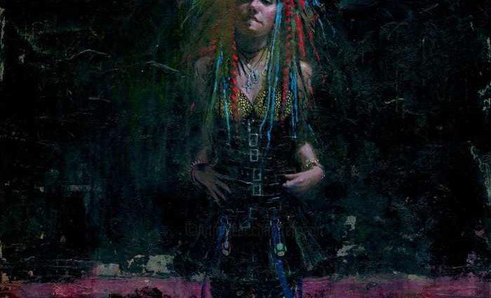 Американский художник. Felipe Echevarria 1
