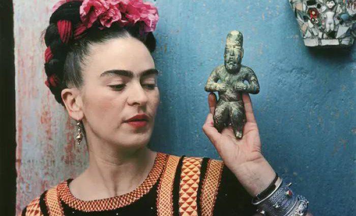 Автопортреты Фриды Кало с обезьянами 1