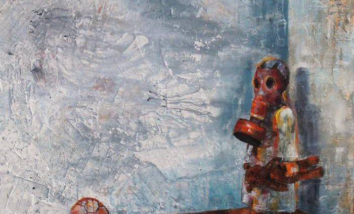 Греческий художник. George Papadimitriou 1