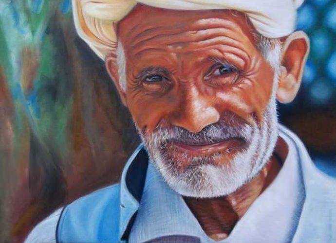 Алжирский художник. Hamza Nezzar 5