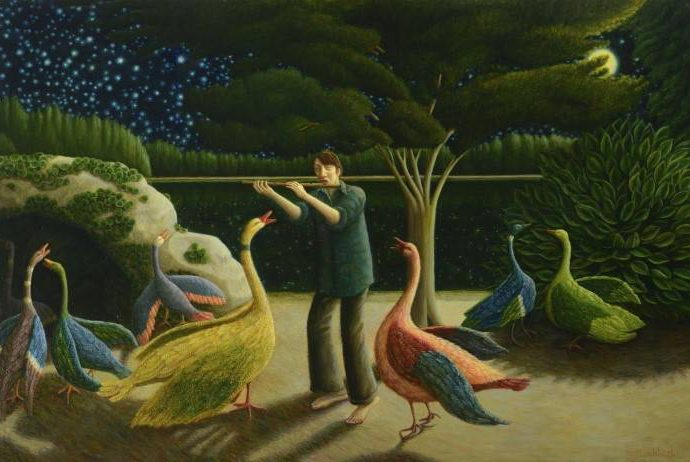 Шотландский художник. Helen Flockhart 167
