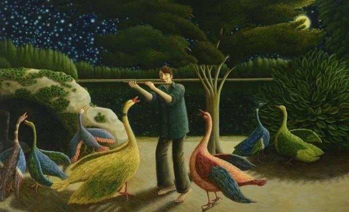 Шотландский художник. Helen Flockhart 1