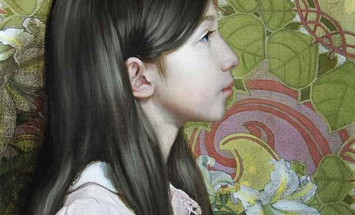 Японский художник. Hiroki Fukuda 1