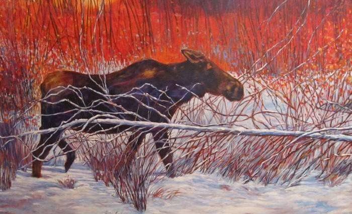 Страсть к живописи. Janet Armstrong 1