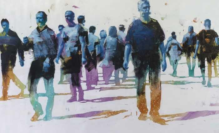 Современный американский художник. John Wentz 1