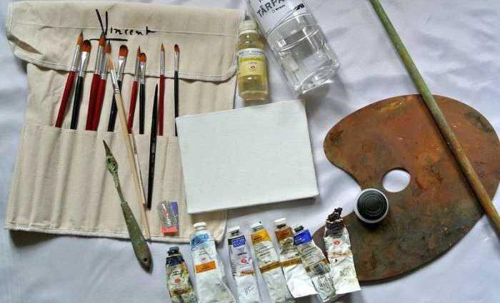 Что необходимо начинающему художнику 1