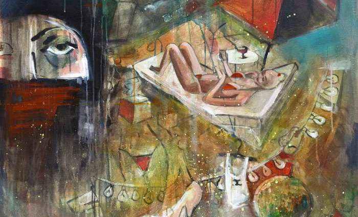 Молодой болгарский художник. Kalina Danailova 1