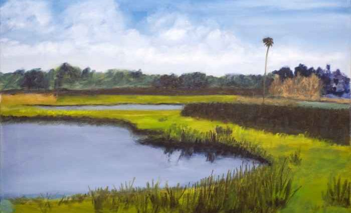 Флоридский пейзажист. Ladale Lloyd 1