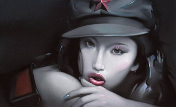 Политический поп-арт. Lv Yanjun 1