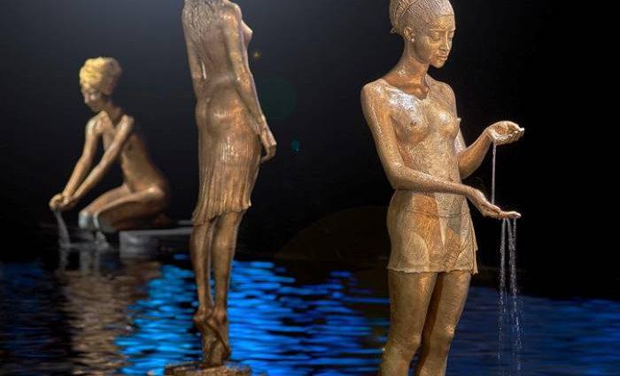 Скульптуры-фонтаны. Malgorzata Chodakowska 1