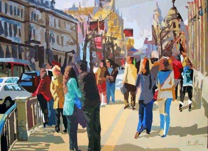 Испанский художник. Marcial Rincon 7