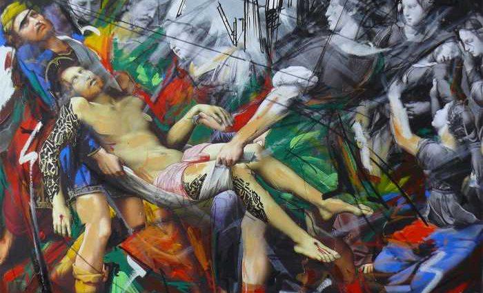Итальянский художник. Marco Tamburro 1