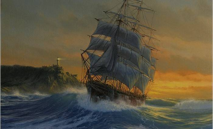 Традиции морского искусства. Marek Ruzyk 1