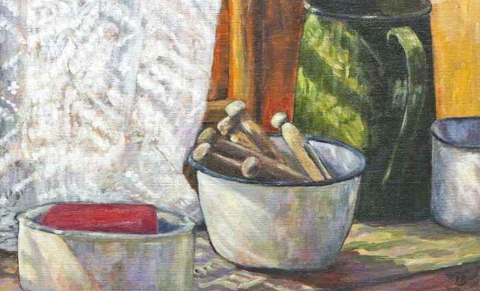 Яркость чистого цвета. Margaret Battye 1