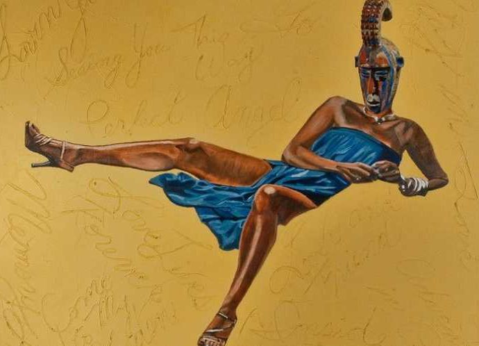 Африканская дива. Margaret Rose Vendryes 5