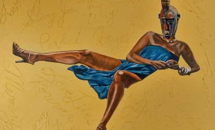 Африканская дива. Margaret Rose Vendryes 1