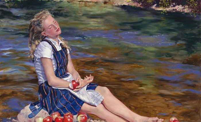 Американский художник. Mary Jane Q Cross 1