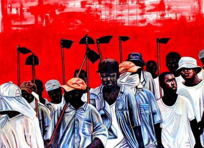 Южноафриканский художник. Mthobisi Maphumulo 2