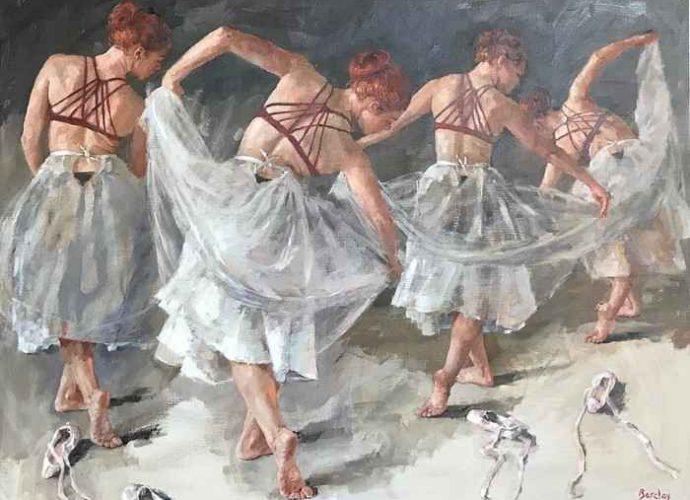 Красивые и безупречно ухоженные девушки. Muriel Barclay 159