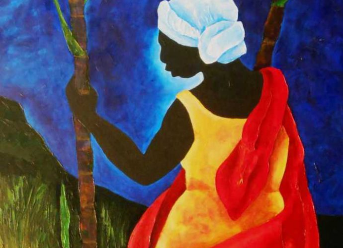 Гаитянский художник. Patricia Brintle 1