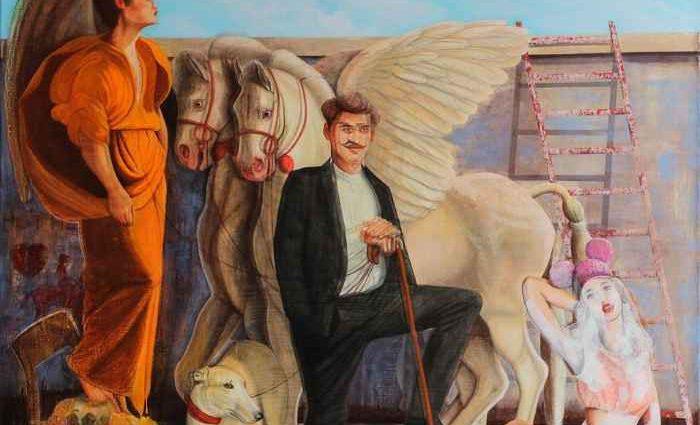 Казахский художник. Pavel Gempler 1