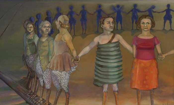 Американский художник. Pilar Mehlis 1