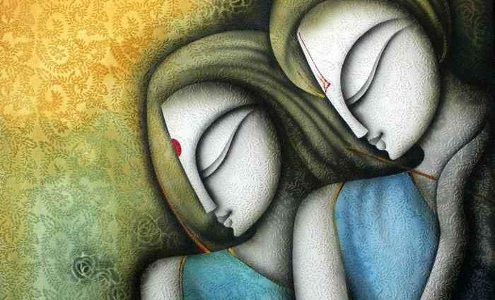Индийский художник. Prakash K 1