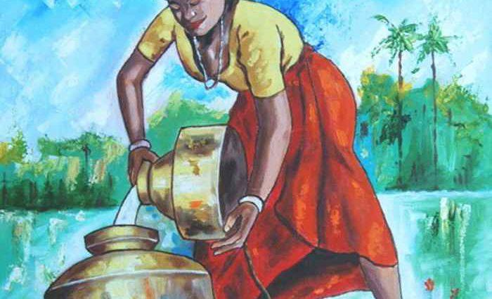 Индийский художник. Ragunath Venkatraman 1