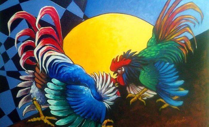 Итальянский художник. Rita Cavallari 1