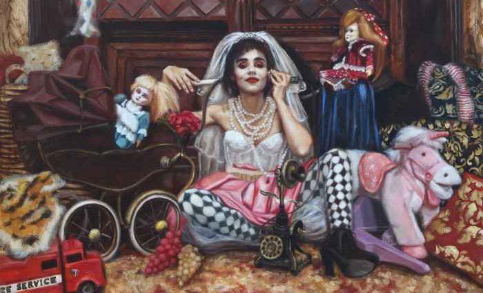 Грань между реализмом и сюрреализмом. Rosso Emerald Crimson 1