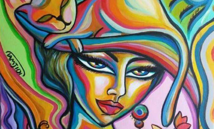Иранский художник-самоучка. Sara Tamjidi 1