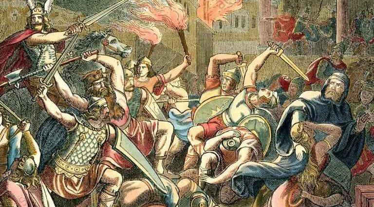 Варвары и римляне. Развитие искусства варваров 1