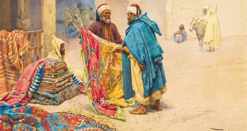 Восточные ковры в европейской живописи 1