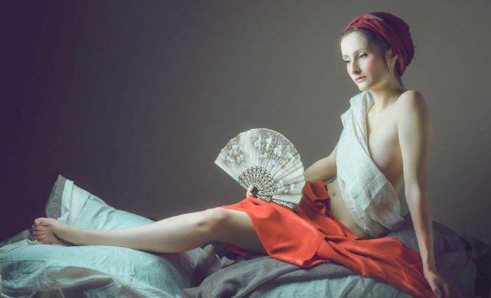Потрясающие женские портреты. Neoclassical. Thierry Bansront 1