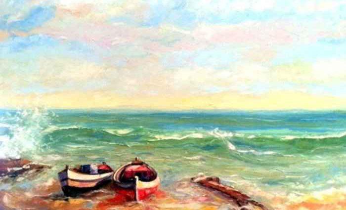 Доминиканский художник. Tony Espaillat 1