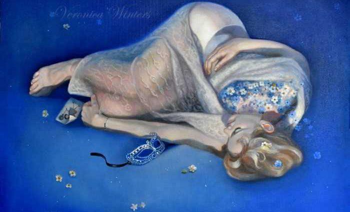 Американский художник. Veronica Winters 1