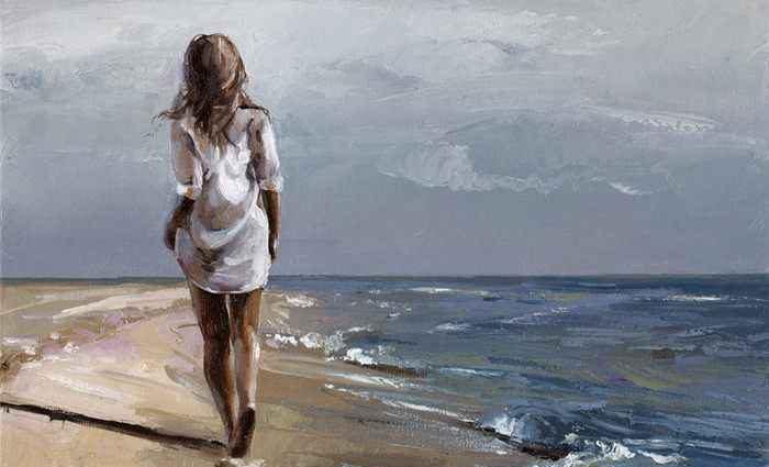 Яркие и простые картины. Victor Bauer 1
