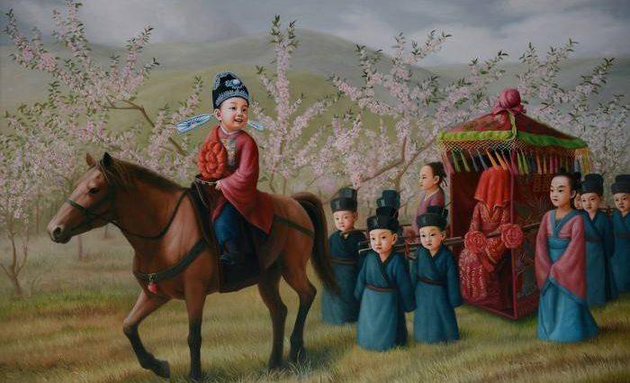 Китайский художник. Zhao Limin 1