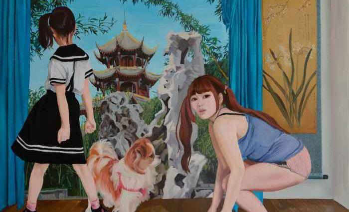 Эмоциональные поэты. Zhao Yanan и Zheng Qiaosi 1