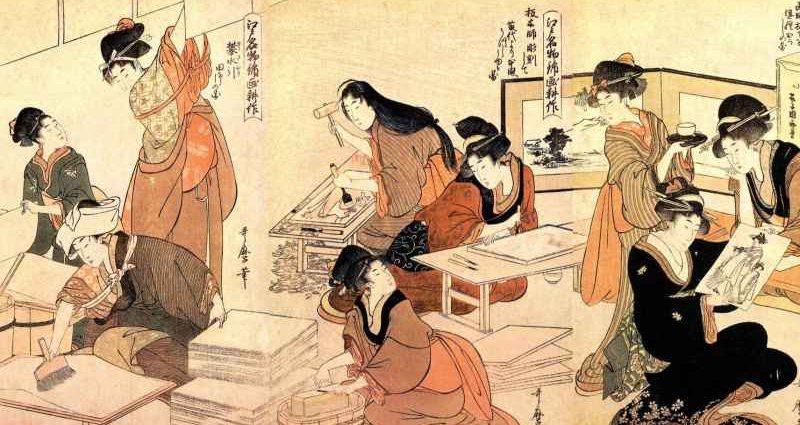 Справочник художника. Японизм 1