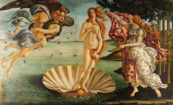 Когда Венера рассказывает историю искусства 1