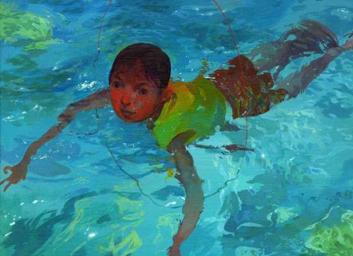 Камбоджийский художник. Andrew Hem 1