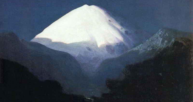 Как художник Архип Куинджи изображал величественный Эльбрус 1