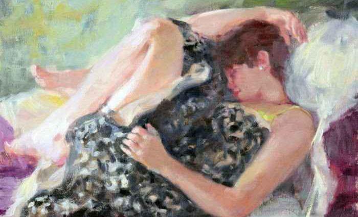 Масляная живопись. E. Melinda Morrison 1