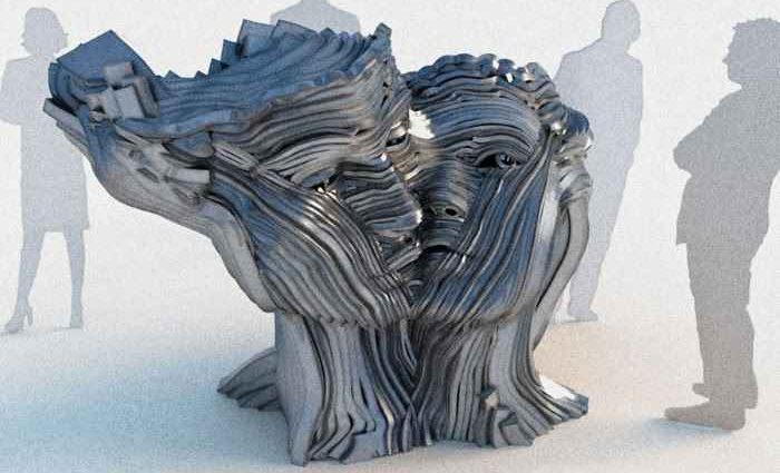 Французский скульптор. Gil Bruvel 1