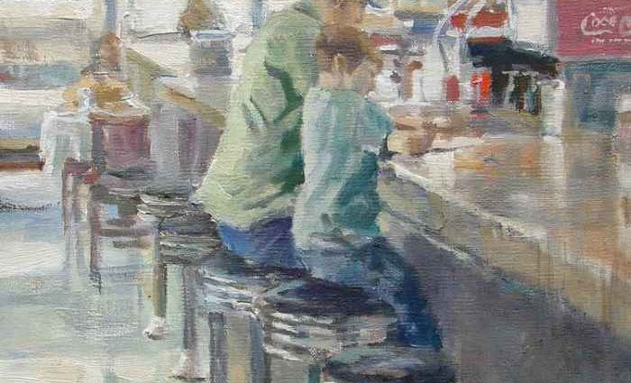 Американский художник. Christopher Westfall 1