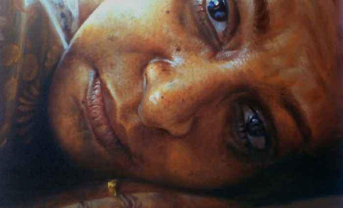 Портреты в стиле реализм. Rajasekharan Parameswaran 1