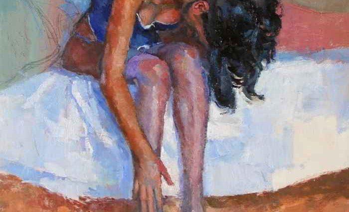 Маслом в стиле импрессионизм. Ramon Gutierrez 1