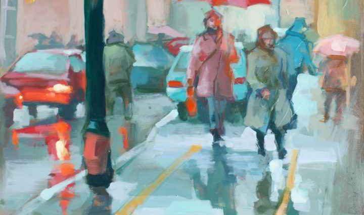 Энергичные картины художницы Renata Domagalska 1